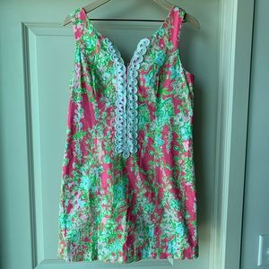 Lilly Pulitzer Southern Charm Cathy Shift Dress 6